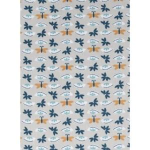 COUPON TISSU PETITS PAPILLONS 100 x 150 CM
