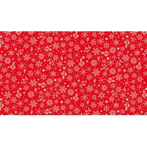 SCANDI SNOWFLAKES RED
