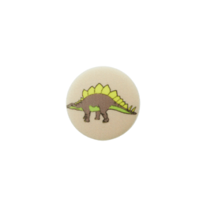 BOUTON POLYESTER PIED DINO COL 903