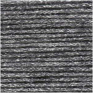 LUXURY MAGIC MOHAIR NOIR ARGENT
