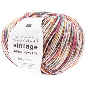 SUPERBA VINTAGE 4 FILS MULTICOLORE