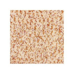 CREATIVE COTTON PRINT ARAN ROUGE ORANGE