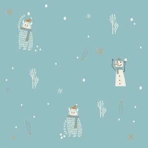 POPELINE YETI ET SNOWMAN