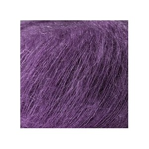 ESSENTIALS SUPER KID MOHAIR LOVES SILK PRUNE