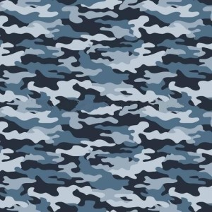 COTON IMPRIME LIGHT BLUE CAMOUFLAGE