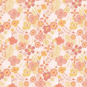 POPELINE JUMBO FLOWERS