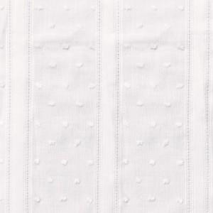 TISSU PLUMETIS VINTAGE WHITE