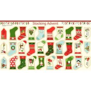 MINI STOCKING ADVENT PANEL