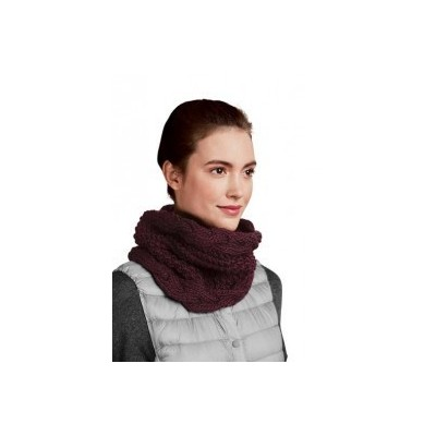 KIT SNOOD TORSADÉ PRUNE