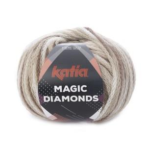 MAGIC DIAMONDS MARRON-ECRU