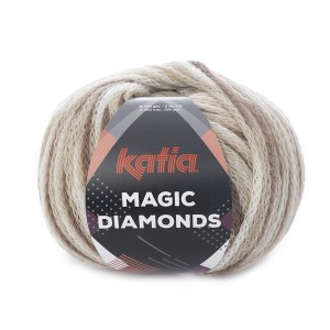 MAGIC DIAMONDS MARRON-ECRU