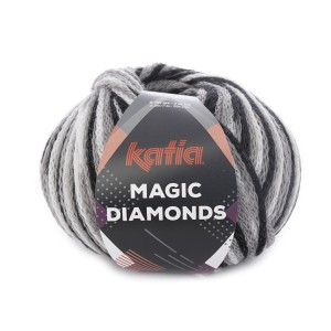 MAGIC DIAMONDS NOIR-GRIS-BLANC