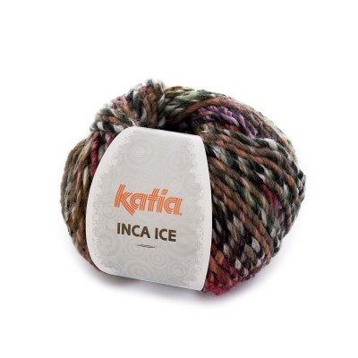 INCA ICE LILAS-ROSE-OCRE