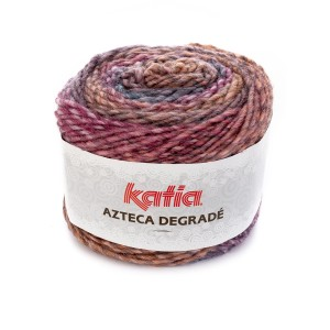 AZTECA DEGRADE BLEU VERT-ORANGE-FUCHSIA