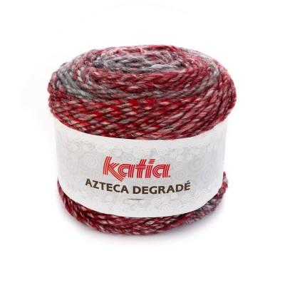 AZTECA DEGRADE ROUGE-GRIS-NOIR