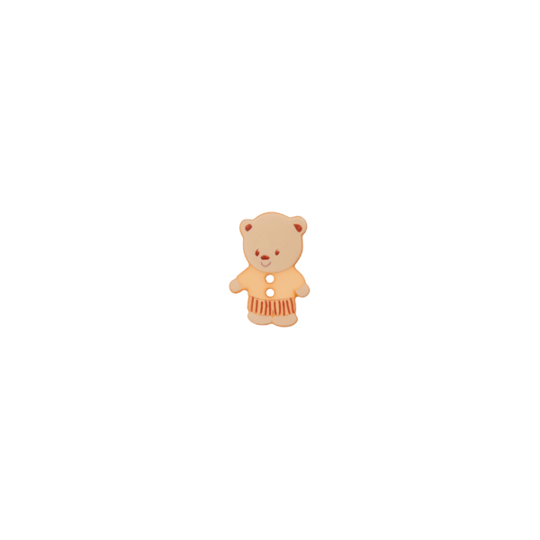 BOUTON OURS 2 TROUS