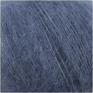 ESSENTIALS SUPER KID MOHAIR LOVES SILK BLEU FUME
