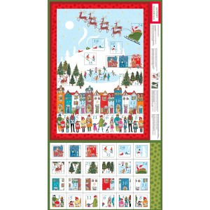 WONDERLAND ADVENT CALENDER PANELS